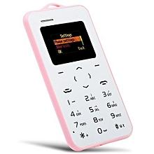 AIEK C6 1.0 Inch Card Phone Bluetooth 2.0 Calendar Alarm Calculator
