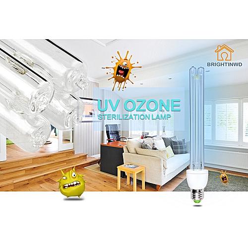 15 20w E27 Uvc Ultraviolet Uv Light Tube Bulb Lamp Ozone Sterilization Mites Germicida Bulb