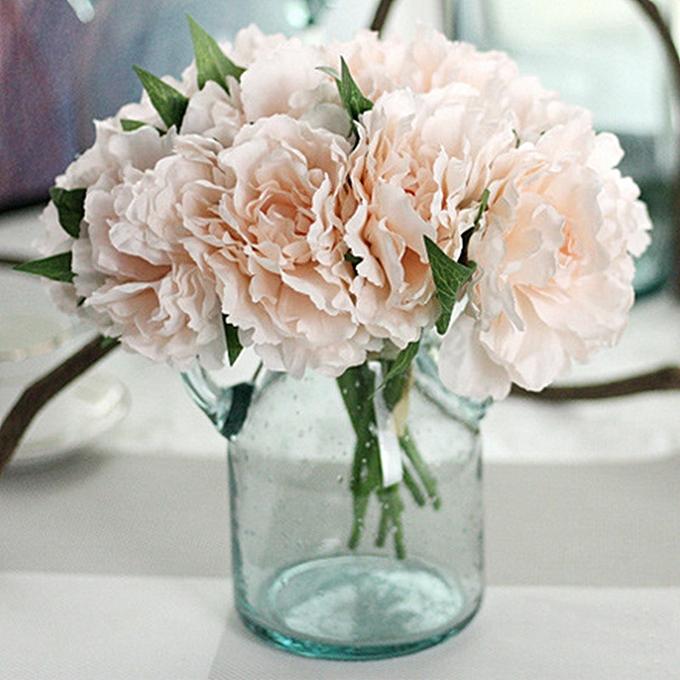 Buy Generic Simulation DIY Tiffany Blue Peony Bouquet Artificial ...
