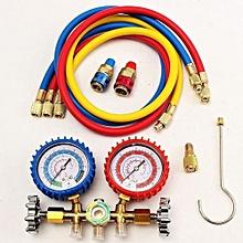 """R12 R22 R502 R134a HVAC A/C Refrigerant Manifold Gauge Charging Hose 90Cm/36"""""""