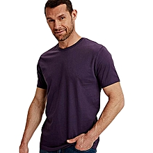 Purple Fashionable Standard T-Shirt