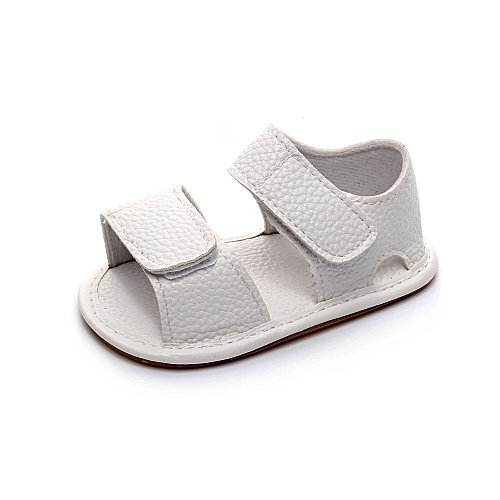 a2e928fb92ae Fashion Newborn Infant Baby Girl Boy Leather Camouflage Sandals Summer Soft Flat  Shoes-White