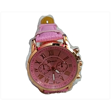 Geneva Watch - Pink