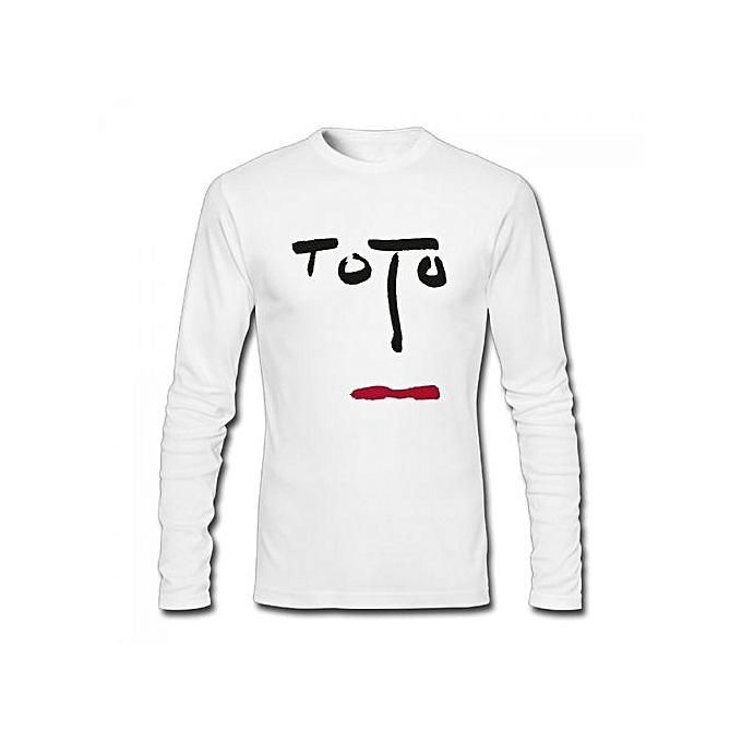 Buy Generic Toto Turn Back Pop Album Men\'s Cotton Long Sleeve T ...