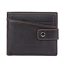 Vintage Genuine Leather Card Holder Wallet Coin Bag For Men