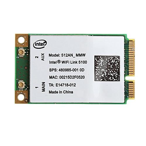 2019 New For Link Intel 5100 WIFI 512AN_MMW 300M Mini PCI-E Wireless WLAN  Card 2 4/5GHz( )