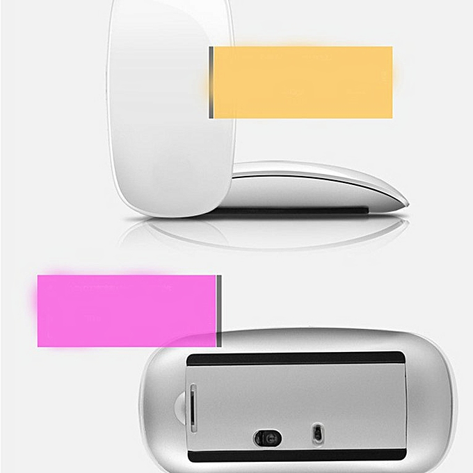 Wireless Mouse For Mac Book Air For Mac Pro Ergonomic Design Bluetooth  Mouse white Bluetooth