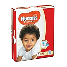 Dry Comfort Diapers, Size 3 (5-9kgs), (Count 64).