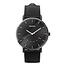 Lenovo Watch S Smartwatch 5ATM Waterproof Rate Sports Modes Sleep Monitoring  - BLACK