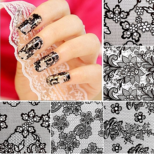 Buy Sunshine 20 Sheets Nail Art Flower Transfer Foil Stickers Diy