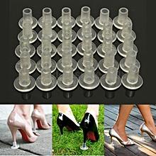 Transparent high heel tip protectors/ anti-sink covers/sound mufflers