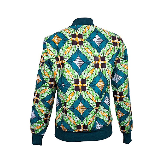 5011c480efc609 Miya Creations Ankara Bomber Jacket   Best Price