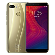 K5 Play 5.7-inch (3GB, 32GB ROM) Android 8.0, 13MP+8MP, 3000mAh, Dual Sim 4G LTE Smartphone - Gold