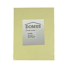 Duvet Cover - Double - 200cm x 200cm - Stone