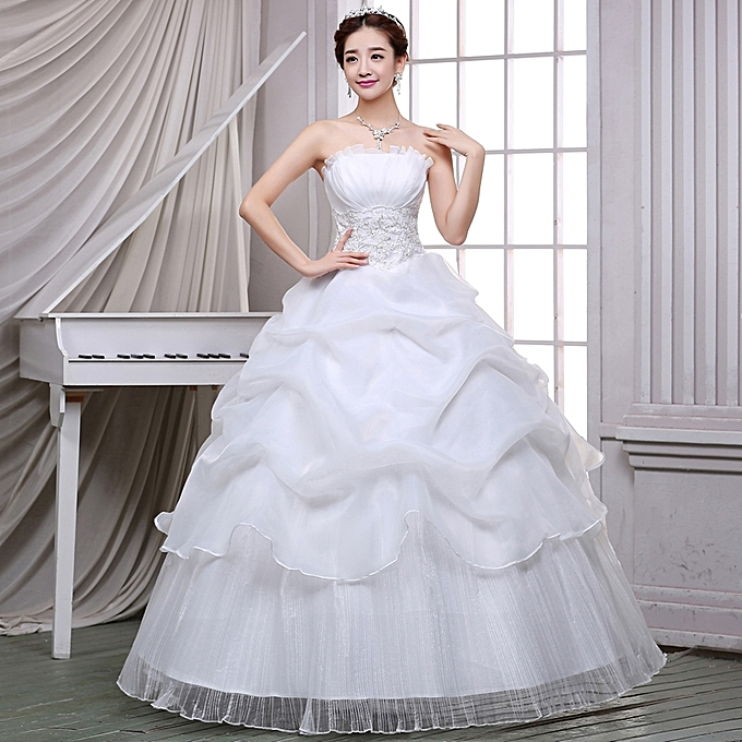 Classic Designer Wedding Dresses Bride Dress