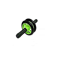 Abs Roller Workout  Arm And Waist Fitness Exerciser Wheel - Black & Green