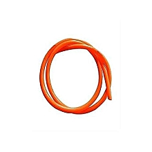 Gas Delivery Hose Pipe  - 2mtrs Orange and 2 Hose clamp