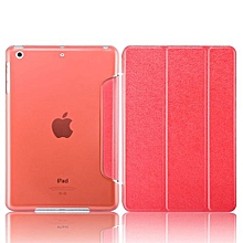Mini 3 Case, Coosybo-Smart Cover Folded Ultra Thin Luxury Leather Protective Matte Case For Apple IPad Mini 1 2 3 (Silk-Red)
