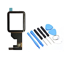 38/42mm Touch Screen Digitizer Front Touch Screen Digitizer For Apple Watch Black