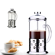 3 PCS Coffee Press Plunge Glass Cafetiere French Filter 800ML