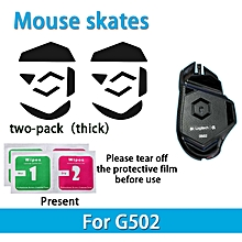 2 sets Teflon 0.6mm 3M Mouse Feet mouse Skates for Logitech G502 gaming Mouse