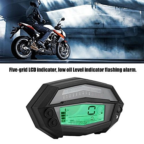 Generic Motorcycle Digital Tachometer Meter Gear Indicator For