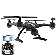 JXD 509W WiFi FPV With 720P Camera Headless Mode High Hold Mode 2.4GHZ 4CH 6-Aixs RC Quadcopter RTF-BlackLeft Hand