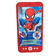 Spiderman Multicolored Touch Screen Custom Musical Toy Phone