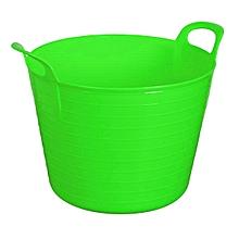 Portable Plastic Multipurpose Storage Basket Organizer Holder/Tubtrug Green