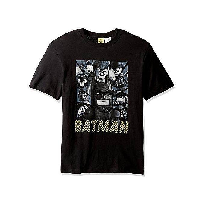 d425a26a9a9 Summer Short Sleeved T-shirt Men s Batman And All The Bad Guys Short Sleeve  T
