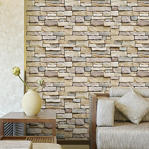 45cm 10m Stone Schist Decal Self Adhesive Wallpaper Bedroom Living Room Decor Grey