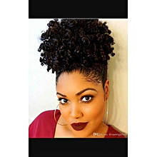 Afro Kinky Spring Curls - Black + Free gift Inside!
