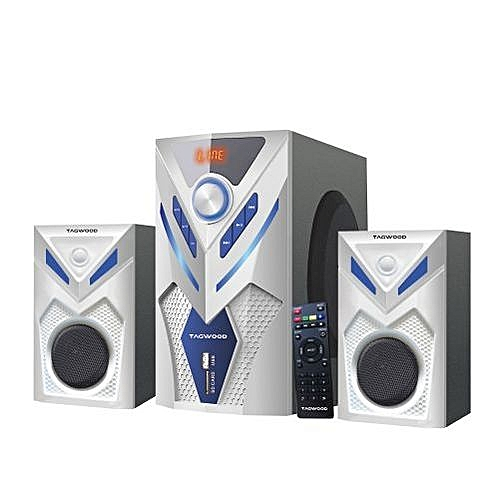 MP-2044 Multimedia 2.1 Subwoofer With Bluetooth - White