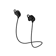 Wireless Bluetooth Earphones - Built-in Mic, Noise Cancellation - 7 Hours Play Time - Black