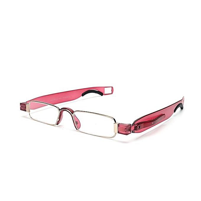5bfdc8cfbdb 350 Degree Men Women Portable 360 Rotation Folding Reading Glasses Casual  Lightweight Presbyopic Glasses