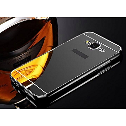 quality design 1eb2a b64f7 Case For Samsung Galaxy J2 Prime Case Metal Frame Back Cover Phone Housing  For Samsung J2 Prime Mirror Casing 169958 c-0 (Color:Main Picture)