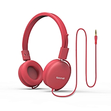 SOUL-Pink Over Ear Wired Headset