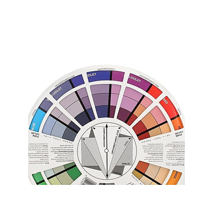 Buy Generic Artists Pocket Color Wheel Mixing Colour Guide 210mm