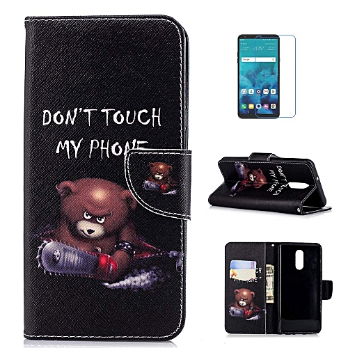 super cute 63ebd 8b4b7 LG Stylo 4 Case, LG Q Stylus Case, LG Stylo 4 Plus Case, LG Stylus 4 Case,  Premium PU Leather Flip Fold Wallet Case [Card Holder] [Kickstand Feature]  ...