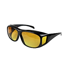 HD Polarized Night Vision Sunglasses Driving Goggles Over Wrap Around Glasses
