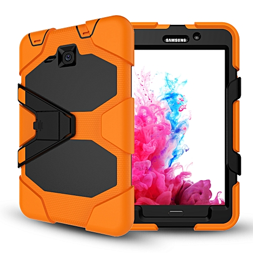 new style d9e6b 82ff3 Samsung Galaxy Tab A 7.0 T280 T285 Case Three Layer Shockproof Heavy Duty  Soft Silicone TPU PC Case with Stand Kickstand Cover for Samsung Galaxy Tab  ...