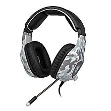3.5mm Wired Gaming Headsets Over Ear Headphones Noise Canceling Earphone with Microphone Volume Control for Laptop PS4  XBOX ONE Smart Phone