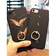 Iphone 8/8 Plus/7/7 Plus/6/6S/6 Plus/6S Plus Phone Cover Simple Pattern Case With Hodlder____IPHONE 6/6S____lack