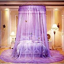 Round  Mosquito Net - Free Size - Purple