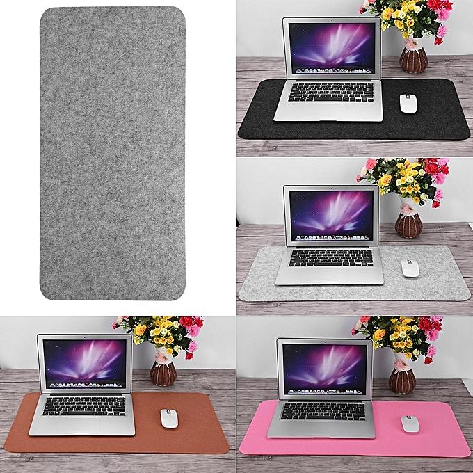 ... 68x33cm Felts Table Mouse Pad Office Desk Laptop Mat Anti-static Computer PC Pads (