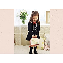 New Style Fashion Baby Girls Kids Spring And Autumn Long Sleeve Dress Long Sweater Hoodies Children Clothing