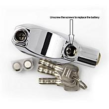 Kinbar Alarm Padlock For Door/Motor/Bike/Car 110db Anti-Theft Security Lock Set With Batteries