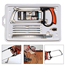 Hand Saw Set Kit Hand Tools Cutter For Glass Wood Metal DIY Multifunction