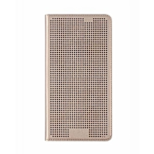 Desire 626 - Dot View Touch Sense Case -Gold