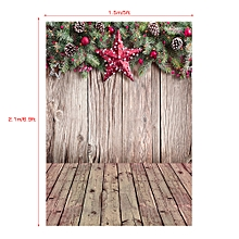 1.5 * 2.1m/5 * 7ft High Quality Christmas Style Photography Background Baby Children Family Backdrop Photo Studio Pros